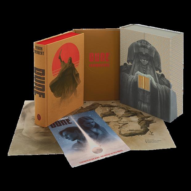 Portada de Dune (edición limitada)