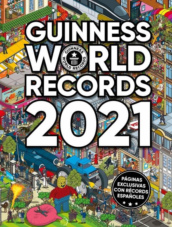 Portada de Guinness World Records 2021