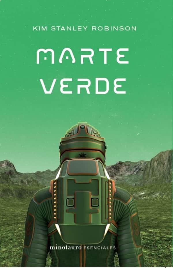 Portada de Marte Verde en Minotauro Esenciales