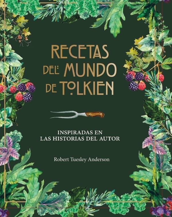 Portada de Recetas del mundo de Tolkien