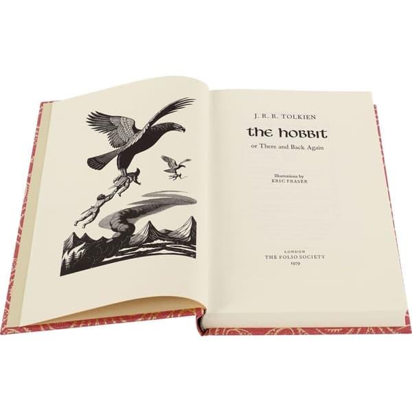 Portada de The Hobbit ilustración