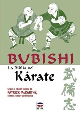 Portada de Bubishi, la biblia del karate