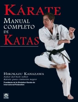 Portada de Kárate manual completo de katas