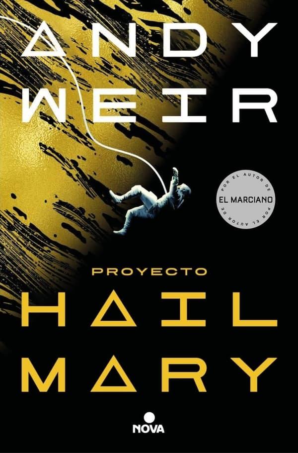 Portada de Proyecto Hail Mary