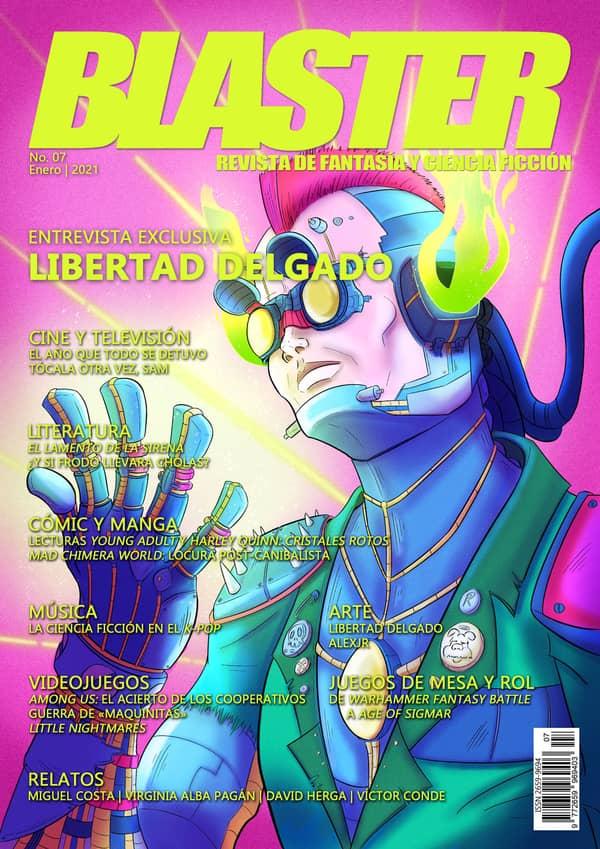 Portada de Revista Blaster 07