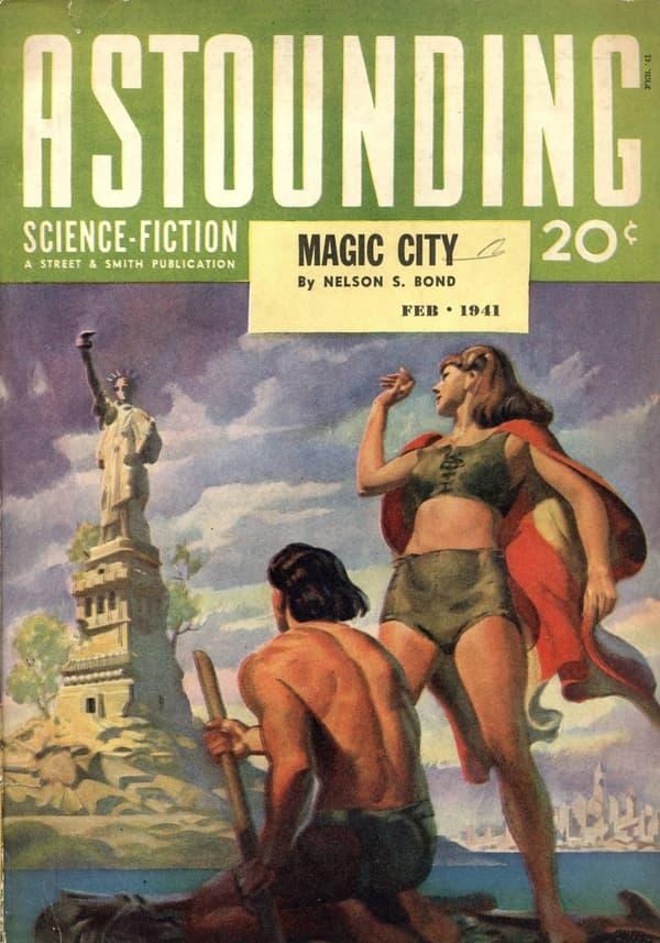 Portada de Astounding 1941