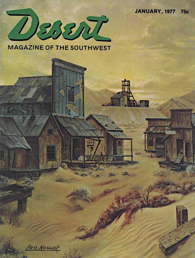Portada de Desert Magazine