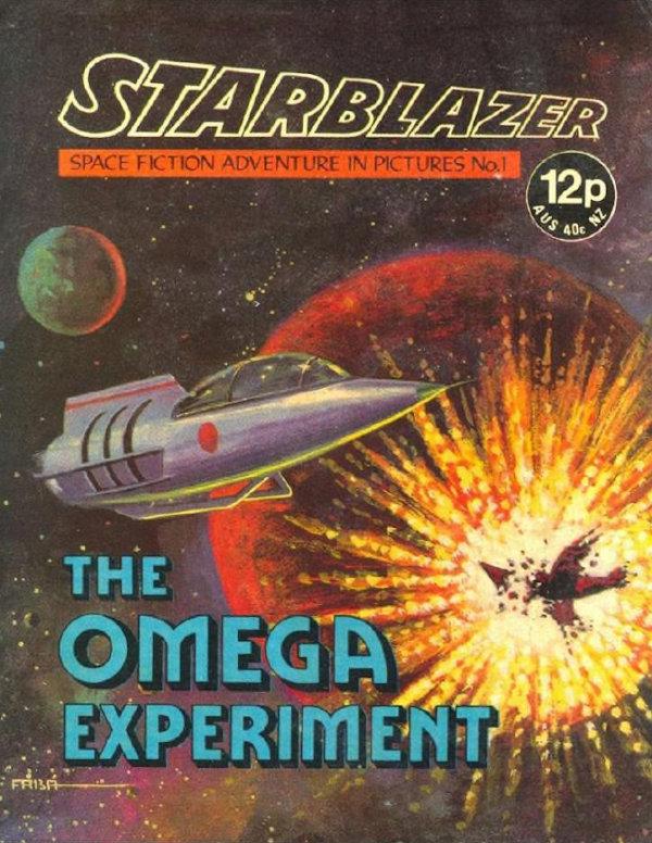 Portada de Starblazer Magazine en Internet Archive