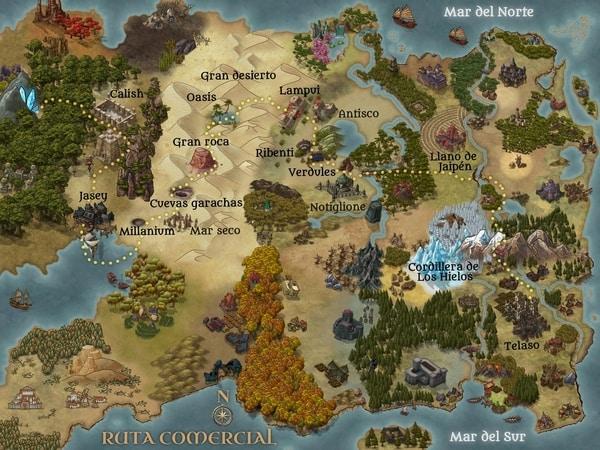 Mapa de Rey de Reyes